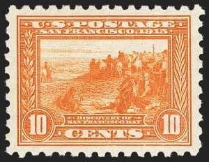 Sale Number 1156, Lot Number 3567, 1913-15 Panama-Pacific Issue (Scott 397-404)10c Panama-Pacific, Perf 10 (404), 10c Panama-Pacific, Perf 10 (404)