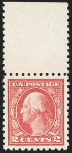 Sale Number 1156, Lot Number 3648, 1916-17 Washington-Franklin Issues (Scott 462-480)2c Carmine, Ty. I (463), 2c Carmine, Ty. I (463)
