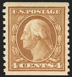 Sale Number 1156, Lot Number 3677, 1917-19 Washington-Franklin Issues (Scott 481-497)1c-4c 1916-18 Issue (486, 487, 495), 1c-4c 1916-18 Issue (486, 487, 495)