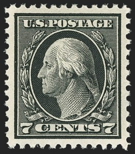 Sale Number 1156, Lot Number 3715, 1917-19 Washington-Franklin Issues, cont. (Scott 498-524)7c Black (507), 7c Black (507)