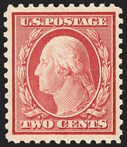 Sale Number 1156, Lot Number 3735, 1917-19 Washington-Franklin Issues, cont. (Scott 498-524)2c Carmine (519), 2c Carmine (519)