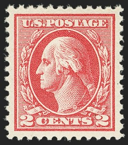 Sale Number 1156, Lot Number 3739, 1918-20 Washington-Franklin Issues (Scott 525-547)2c Carmine, Ty. IV (526), 2c Carmine, Ty. IV (526)