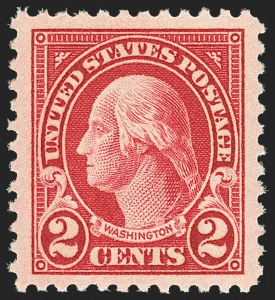 Sale Number 1156, Lot Number 3753, 1922 and Later (Scott 551-1867b)2c Carmine (554), 2c Carmine (554)