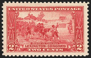 Sale Number 1156, Lot Number 3761, 1922 and Later (Scott 551-1867b)2c Lexington-Concord (618), 2c Lexington-Concord (618)