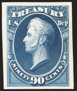 Sale Number 1156, Lot Number 3840, Officials1c-90c Treasury, Atlanta Trial Color Plate Proofs (O72TC4-O82TC4), 1c-90c Treasury, Atlanta Trial Color Plate Proofs (O72TC4-O82TC4)