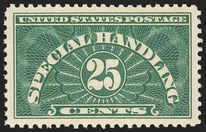 Sale Number 1156, Lot Number 3863, Newspapers and Periodicals, Parcel Post, Postal Stationery25c Special Handling (QE4), 25c Special Handling (QE4)