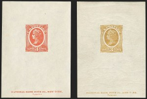 Sale Number 1158, Lot Number 4007, 1861-68 Issues Essays (Scott 73-E thru 79-E)National Bank Note Co., 3c Liberty, Die Essay on Wove Stamp Paper, Gummed (79-E30l), National Bank Note Co., 3c Liberty, Die Essay on Wove Stamp Paper, Gummed (79-E30l)