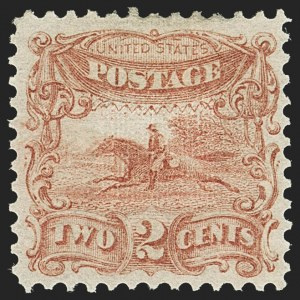 Sale Number 1158, Lot Number 4027, 1869 Issue, 2c Post Rider Essays (Scott 113-E)2c Small Numeral, Plate Essay on Stamp Paper, Perforated 12, Grilled (113-E3e), 2c Small Numeral, Plate Essay on Stamp Paper, Perforated 12, Grilled (113-E3e)
