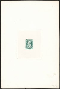 Sale Number 1158, Lot Number 4190, 1870-88 Bank Note Issues Essays7c Stanton, Large Die Essay on India (149-E6), 7c Stanton, Large Die Essay on India (149-E6)