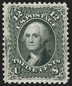 Sale Number 1159, Lot Number 114, 1867-68 Grilled Issue (Scott 79-101)12c Black, F. Grill (97), 12c Black, F. Grill (97)