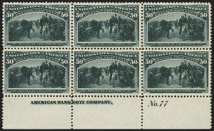 Sale Number 1159, Lot Number 201, 1893 Columbian Issue (Scott 230-245)50c Columbian (240), 50c Columbian (240)