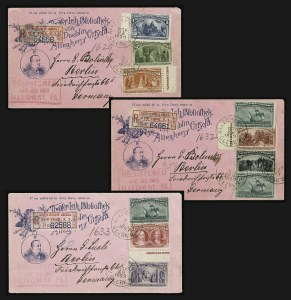 Sale Number 1159, Lot Number 207, 1893 Columbian Issue (Scott 230-245)1c-$4.00 Columbian (230/244), 1c-$4.00 Columbian (230/244)