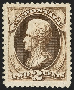 Sale Number 1162, Lot Number 262, 1873 Continental Bank Note Co. Issue (Scott 156-179)2c Brown (157), 2c Brown (157)