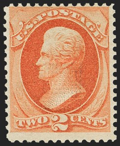 Sale Number 1162, Lot Number 273, 1873 Continental Bank Note Co. Issue (Scott 156-179)2c Vermilion, With Grill (178c), 2c Vermilion, With Grill (178c)