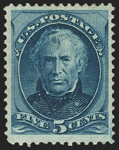 Sale Number 1162, Lot Number 274, 1873 Continental Bank Note Co. Issue (Scott 156-179)5c Blue (179), 5c Blue (179)