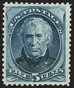 Sale Number 1162, Lot Number 275, 1873 Continental Bank Note Co. Issue (Scott 156-179)5c Blue (179), 5c Blue (179)