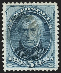 Sale Number 1162, Lot Number 276, 1873 Continental Bank Note Co. Issue (Scott 156-179)5c Blue (179), 5c Blue (179)
