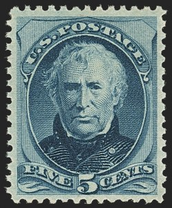 Sale Number 1162, Lot Number 280, 1879 American Bank Note Co. Issue (Scott 182-191)5c Blue (185), 5c Blue (185)
