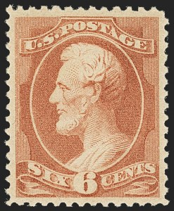 Sale Number 1162, Lot Number 291, 1881-83 American Bank Note Co. Issues (Scott 205-218)6c Rose (208), 6c Rose (208)