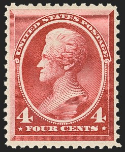 Sale Number 1162, Lot Number 296, 1881-83 American Bank Note Co. Issues (Scott 205-218)4c Carmine (215), 4c Carmine (215)
