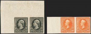 Sale Number 1162, Lot Number 301, 1890-93 Issue (Scott 219-229)1c-90c 1890-93 Issue, Imperforate (219c-229a), 1c-90c 1890-93 Issue, Imperforate (219c-229a)