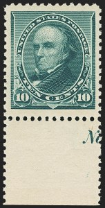 Sale Number 1162, Lot Number 308, 1890-93 Issue (Scott 219-229)10c Green (226), 10c Green (226)
