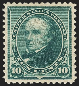 Sale Number 1162, Lot Number 309, 1890-93 Issue (Scott 219-229)10c Green (226), 10c Green (226)