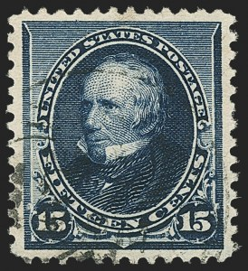 Sale Number 1162, Lot Number 312, 1890-93 Issue (Scott 219-229)15c Indigo (227), 15c Indigo (227)