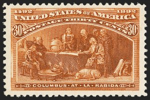 Sale Number 1162, Lot Number 317, 1893 Columbian Issue (Scott 230-245)1c-30c Columbian (230-239), 1c-30c Columbian (230-239)