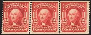 Sale Number 1162, Lot Number 439, 1902-08 Issues (Scott 300-320)2c Scarlet, International Vending Machine Co., Perforated Approximately 12-1/2 (320b var), 2c Scarlet, International Vending Machine Co., Perforated Approximately 12-1/2 (320b var)