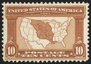 Sale Number 1162, Lot Number 440, 1904 Louisiana Purchase and Jamestown Issues (Scott 323-330)1c-10c Louisiana Purchase (323-327), 1c-10c Louisiana Purchase (323-327)
