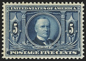 Sale Number 1162, Lot Number 445, 1904 Louisiana Purchase and Jamestown Issues (Scott 323-330)5c Louisiana Purchase (326), 5c Louisiana Purchase (326)