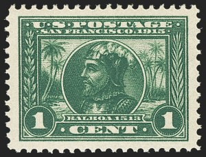 Sale Number 1162, Lot Number 479, 1913-15 Panama-Pacific Issue (Scott 397-404)1c Panama-Pacific (397), 1c Panama-Pacific (397)