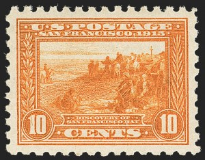 Sale Number 1162, Lot Number 490, 1913-15 Panama-Pacific Issue (Scott 397-404)10c Panama-Pacific, Perf 10 (404), 10c Panama-Pacific, Perf 10 (404)