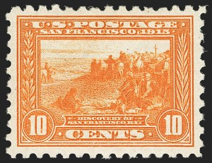 Sale Number 1162, Lot Number 492, 1913-15 Panama-Pacific Issue (Scott 397-404)10c Panama-Pacific, Perf 10 (404), 10c Panama-Pacific, Perf 10 (404)