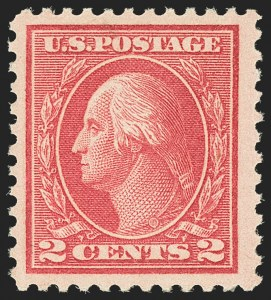 Sale Number 1162, Lot Number 539, 1917-19 Issues (Scott 481-524)2c Deep Rose, Ty. Ia (500), 2c Deep Rose, Ty. Ia (500)