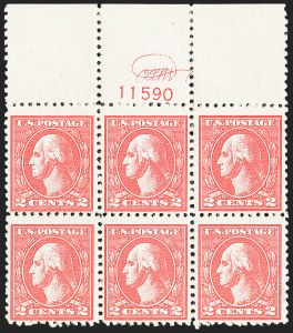 Sale Number 1162, Lot Number 563, 1918-20 Issues (Scott 525-550)2c Carmine, Ty. VI (528A), 2c Carmine, Ty. VI (528A)