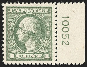 Sale Number 1162, Lot Number 569, 1918-20 Issues (Scott 525-550)1c Gray Green (536), 1c Gray Green (536)