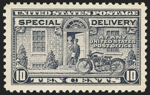 Sale Number 1162, Lot Number 670, Special Delivery, Registration (E, F)10c Gray Violet, Special Delivery (E12), 10c Gray Violet, Special Delivery (E12)