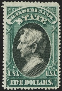 Sale Number 1162, Lot Number 699, Officials (O)$5.00 State (O69), $5.00 State (O69)