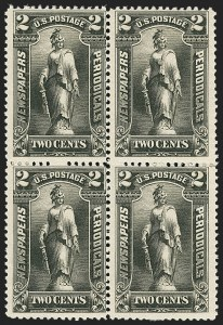 Sale Number 1162, Lot Number 748, Newspapers and Periodicals (PR)2c Black, 1895 Unwatermarked Issue (PR103), 2c Black, 1895 Unwatermarked Issue (PR103)