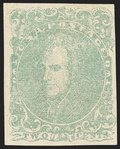 Sale Number 1162, Lot Number 829, Confederate States2c Green (3), 2c Green (3)