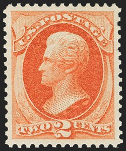 Sale Number 1163, Lot Number 131, 1873-75 Continental Bank Note Co. Issue (Scott 156-166, 178-179)2c Vermilion (178), 2c Vermilion (178)