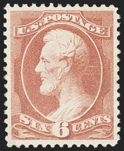 Sale Number 1163, Lot Number 146, 1881-83 American Bank Note Co. Issues (Scott 205-211B)6c Rose (208), 6c Rose (208)