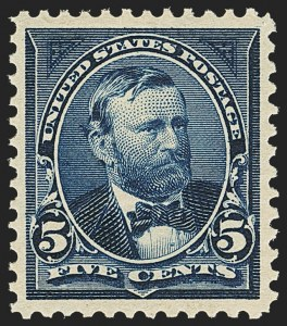 Sale Number 1163, Lot Number 216, 1897-1903 Change of Colors (Scott 279-284)5c Dark Blue (281), 5c Dark Blue (281)