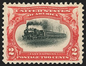 Sale Number 1163, Lot Number 226, 1901 Pan-American Issue (Scott 294-299)2c Pan-American (295), 2c Pan-American (295)