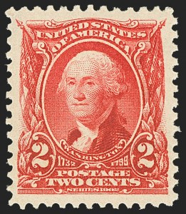 Sale Number 1163, Lot Number 230, 1902-08 Issues (Scott 300-320)2c Carmine (301), 2c Carmine (301)