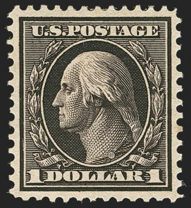 Sale Number 1163, Lot Number 263, 1908-10 Washington-Franklin Issues (Scott 331-356)$1.00 Violet Brown (342), $1.00 Violet Brown (342)