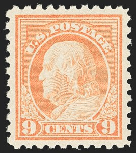 Sale Number 1163, Lot Number 363, 1916-17 Issues (Scott 462-480)9c Salmon Red (471), 9c Salmon Red (471)