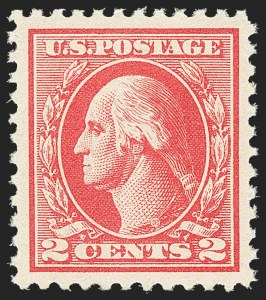 Sale Number 1163, Lot Number 397, 1918-20 Offset Printing Issues (Scott 525-536)2c Carmine, Ty. IV (526), 2c Carmine, Ty. IV (526)